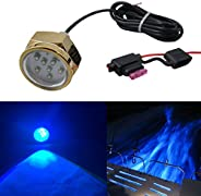 Home Ledlight LED PLUG DRAIN MARINE LIGHT - 27W IP68 White Or Blue Color Underwater DC12V-28V Led Plug Drain L