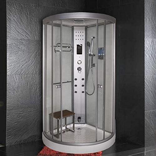 Cabina ducha hidromasaje 90 x 90 cm con plato ducha cabina multifución con baño turco: Amazon.es: Bricolaje y herramientas