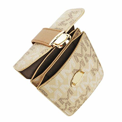 Purse Clutch Brown Collection Vegan Handbag MKF Cross Organizer Satchel Phone Crossbody Women Body for Bags Leather Wallet F1dffwq7