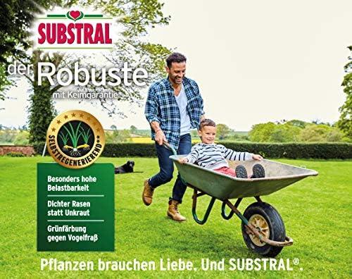 """RPR-Samen Rasen-Samen Substral /""""Der Robuste/"""" 1kg idealer Sport /& Spiel Rasen"""
