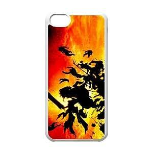iPhone 5C Phone Case White Darksiders ZIC456849
