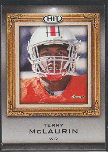 2019 Sage Hit Terry McLaurin Redskins Premium Portrait Rookie Football Card #PP-13