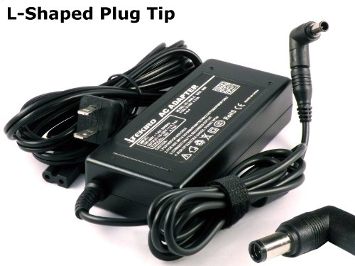 iTEKIRO Laptop AC Adapter Charger for Sony Vaio VGN-N51HB VGN-NR10E/S VGN-NR110 VGN-NR110E VGN-NR110E/S VGN-NR110E/T VGN-NR110E/W VGN-NR115 VGN-NR115E VGN-NR115E/S VGN-NR115E/T VGN-NR11M/S VGN-NR11S/S + iTEKIRO 10-in-1 USB Charging Cable