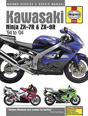 Haynes Manuals N/Amanual Kaw Zx7r/Zx9r 94 04 M3721 New