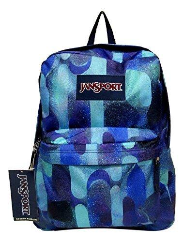 Jansport Superbreak Backpack! (Shady Grey Stitch Plaid) by JanSport (Image #3)