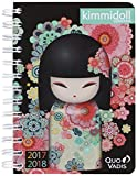 Quo Vadis Kimmidoll Classic Euro Text 1281112Q Spiral-Bound Daily Diary, Year 2017-2018, 12 x 17 cm [English Language Not Guaranteed]