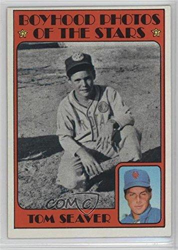 Seaver Card Tom (Tom Seaver (Baseball Card) 1972 Topps - [Base] #347)