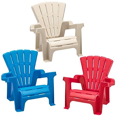 American Plastic Toy Adirondack Chair (Colors And Styles May Vary)