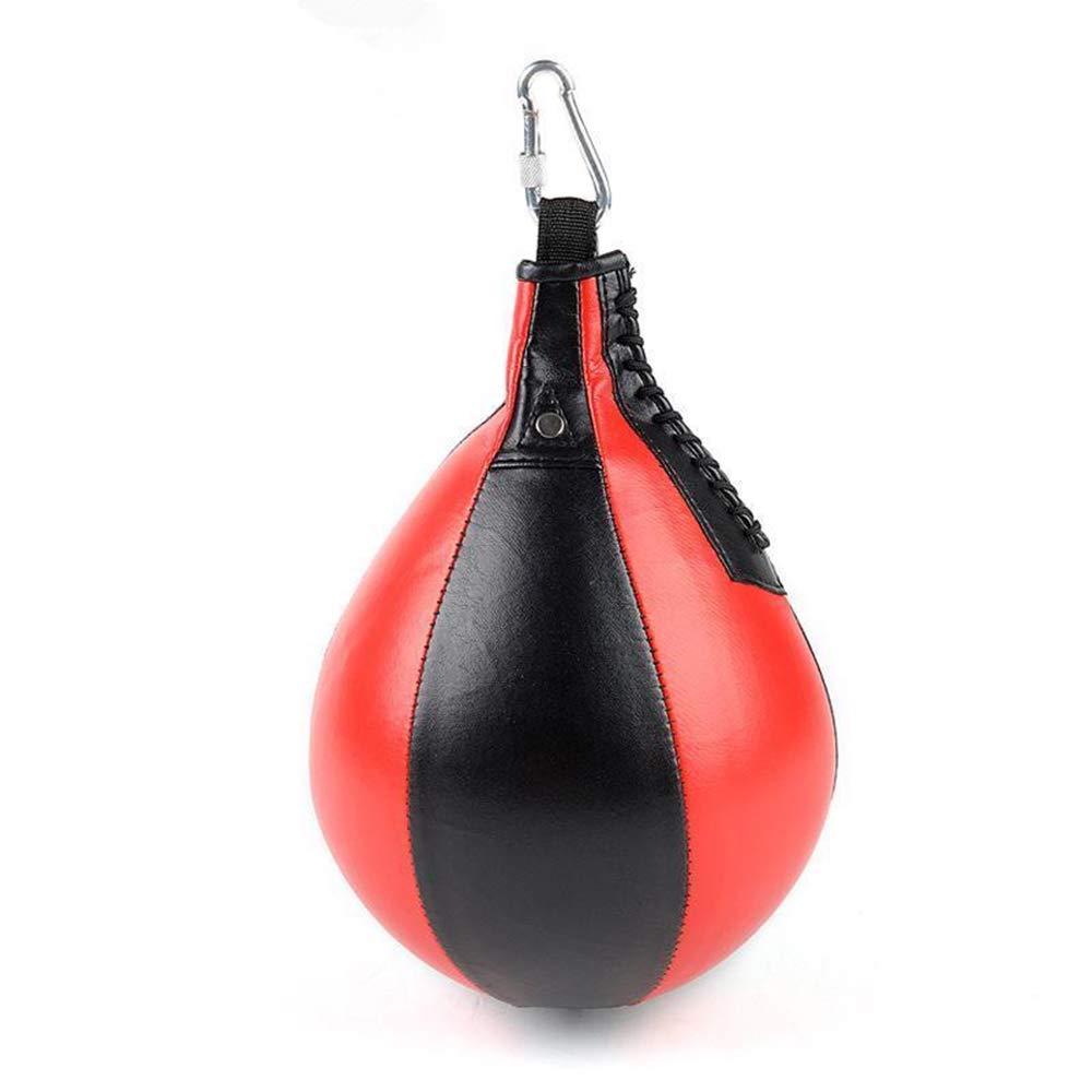 AZX Boxeo Velocidad de Bola, Bola de Entrenamiento de Velocidad para Colgar Dodge Ball, Apto para Boxeo formació n y Ejercicio Diario (Negro + Blanco) Apto para Boxeo formación y Ejercicio Diario (Negro + Blanco)