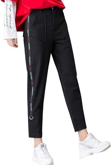 Blansdi Femme Pantalon 2018 Automne Nouveau Style Jambes