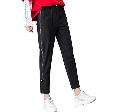 Automne Femme Jambes Large Blansdi 2018 Pantalon Style Nouveau wtRgPP4fq