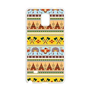 Canting_Good Ethnic Tribal Custom Case Shell Skin for SamSung Galaxy Note4 (Laser Technology)