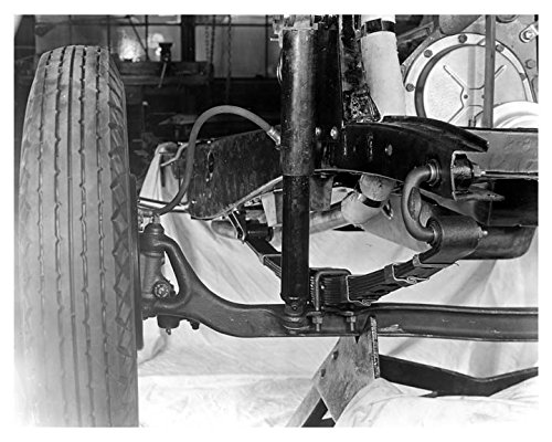 - 1938 Hudson 112 Right Front Spring Suspension Photo Poster