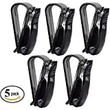 Autoark AK-023 Car Visor Glasses Sunglasses Ticket Clip Holder,5 Pack