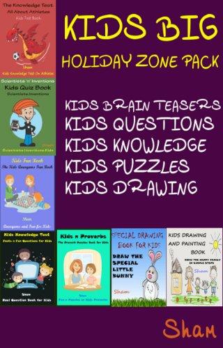 amazon com kids big holiday zone pack kids brain teasers kids