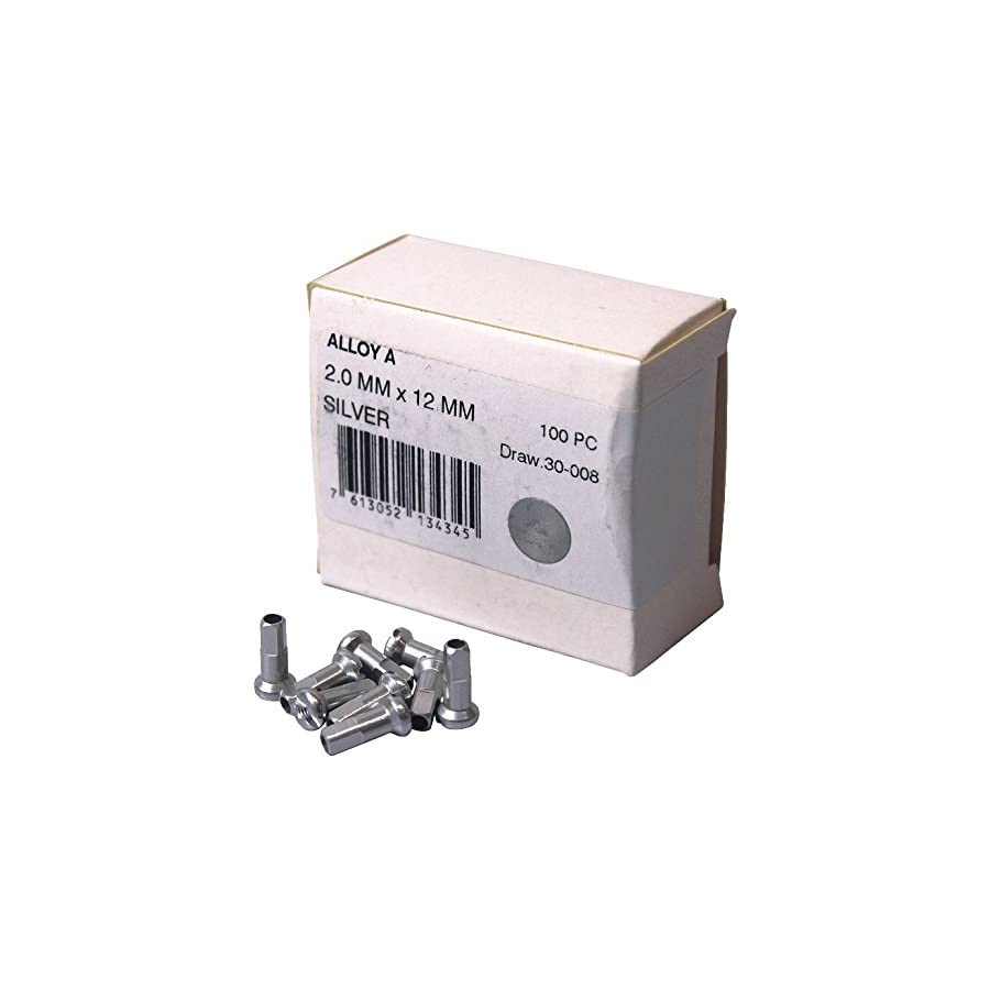 Dt Swiss 14G Alloy Nipple Spoke (Box of 100)