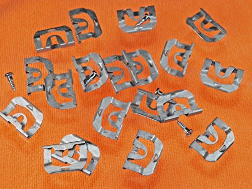 - GM Rear Window Clips 68-72 A Body Chevelle Cutlass 442 F85 Special GS GTO #118