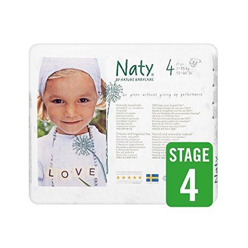 1パックNatyサイズ4キャリー27 (Nature) (x 6) - Naty Size 4 Carry 27 per pack (Pack of 6) [並行輸入品]   B01M1K7BOE