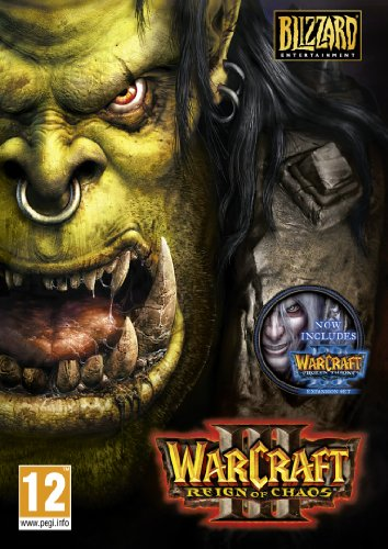 Warcraft 3 with Frozen Throne Expansion (Best Ps3 War Strategy Games)