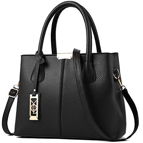 COCIFER Women Top Handle Satchel Handbags Shoulder Bag Tote Purses Messenger Bags ()