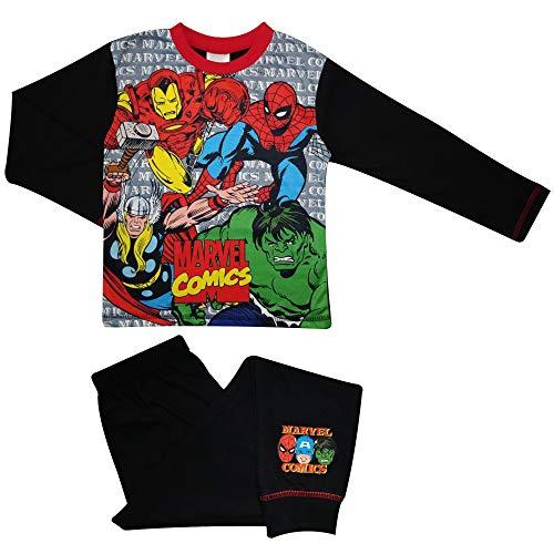MARVEL Jongens Comics Pyjama Ongelooflijke Hulk Spider-Man Iron Man Pjs Leeftijd 4 tot 10 Jaar