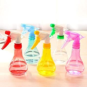 asentechuk® 250 ml plástico botella de agua alcachofa de pulverizador de Bonsai planta flor de jardinería de Blow herramienta de limpieza (color al azar): ...