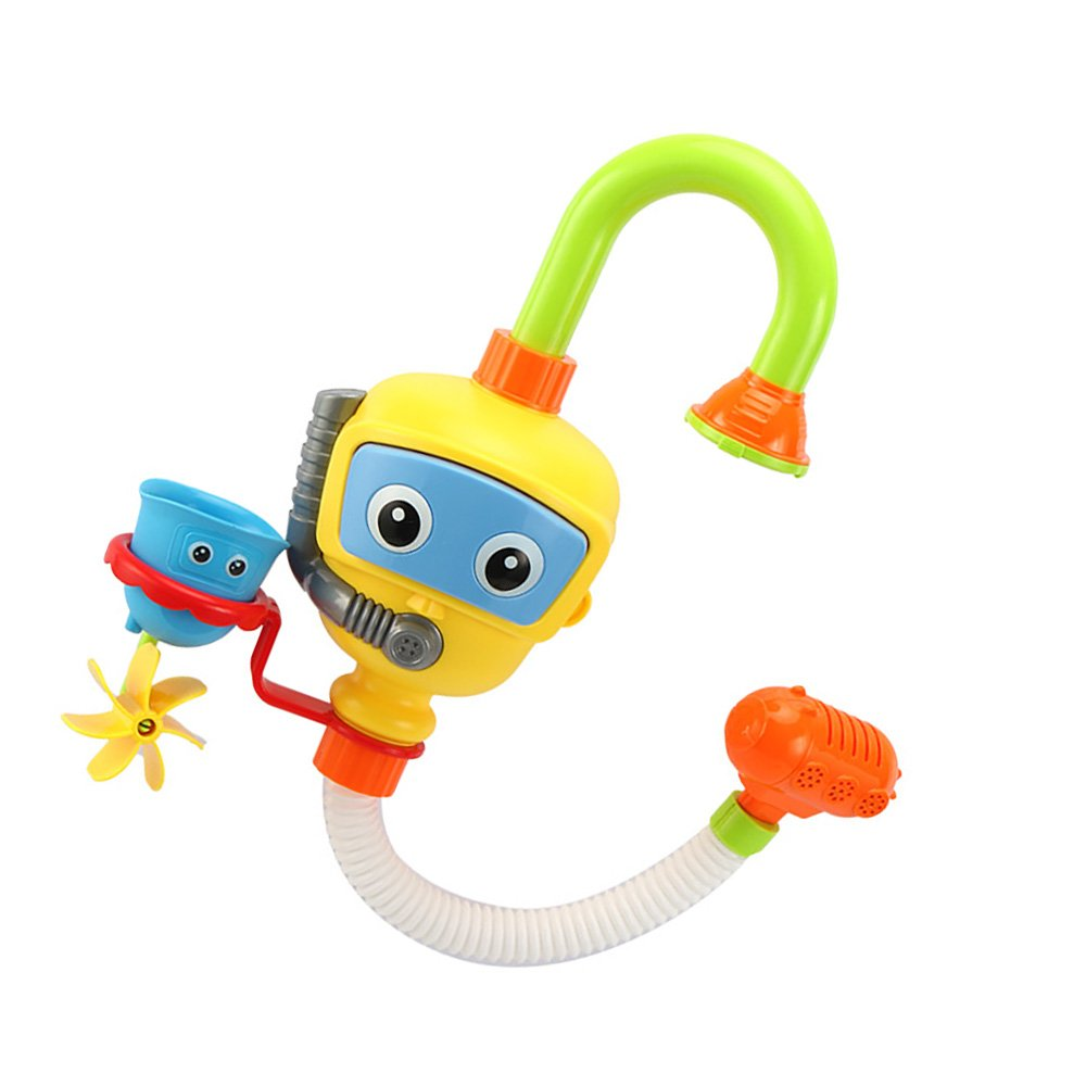 Baby Bath Shower Toys, Water Pump Diver Spray Toy Swimming Pool for ...