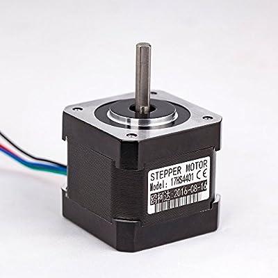 Cloudray 4-lead Nema17 Stepper Motor 42 Nema 17 42BYGH (17HS4401) 40mm 1.7A 3D printer motor and CNC XYZ