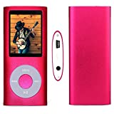 G.G.Martinsen Pink 16 G Mini Usb Port Slim Small Multi-lingual Selection 1.78 LCD Portable MP3/MP4, MP3Player , MP4 Player , Video Player , Music Player , Media Player , Audio Player