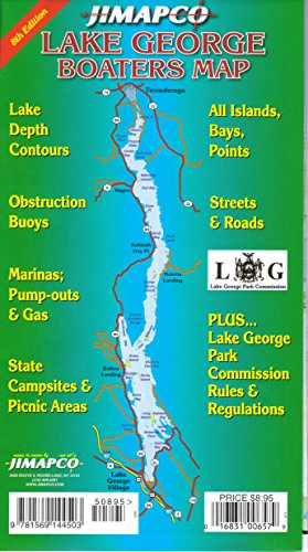 Lake George Boaters Map