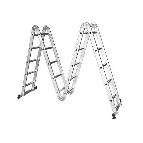 Alu Klappleiter Allzweckleiter Gelenkleiter Anlegeleiter Arbeitsbühne Leiter 4x4