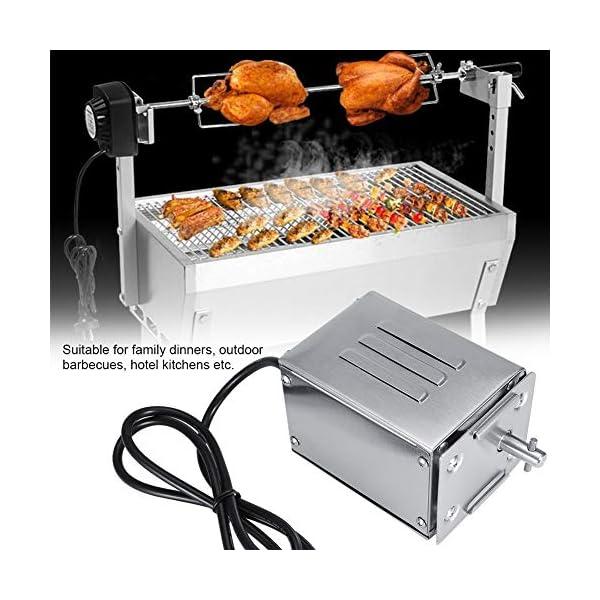 Zerodis Motore per Barbecue 50-70KGF Kit Girarrosto All'aperto Acciaio Inossidabile BBQ Rosticceria Motore Girarrosto… 4 spesavip