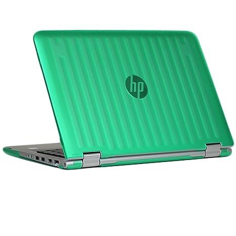 """mCover Verde carcasa dura /fundas duras SÓLO para portátil de 13,3"""" HP"""