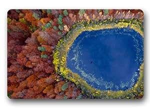 Standard-Store Custom Fabulous Natural Scenery River Doormat