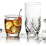 Anchor Hocking Fleur 16-Piece Mixed Tumbler Set