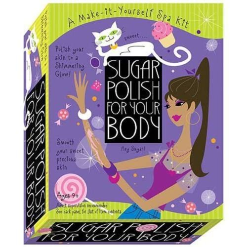 Scientific Explorer Sugar Polish For Your Body! For Ages 9+ This beauty science kit is great for spa parties, sleepovers, and birthdays! by SCE
