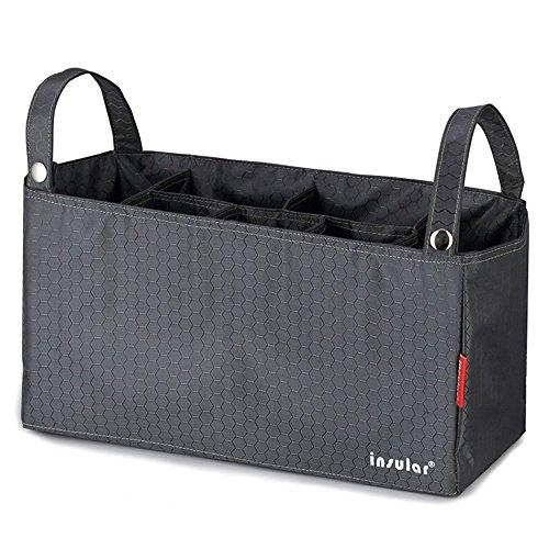 Multifunktionale Baby Windel Organizer Wickeltaschen für Kinderwagen Baby Travel Tragbare Windeltaschen Wickeltaschen Einsatz Organizer für Mom mit 7Taschen