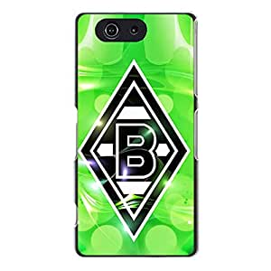 VfL Borussia Monchengladbach Phone Case,Creative Fashion Bundesliga Monchengladbach Team Logo Custom Hard Case for Sony Xperia Z3 Compact