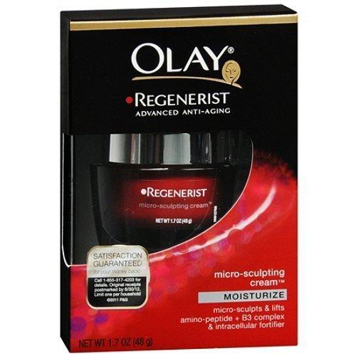 Olay - Regenerist Micro-Sculpting Cream Moisturize - 48g/1.7oz by Olay