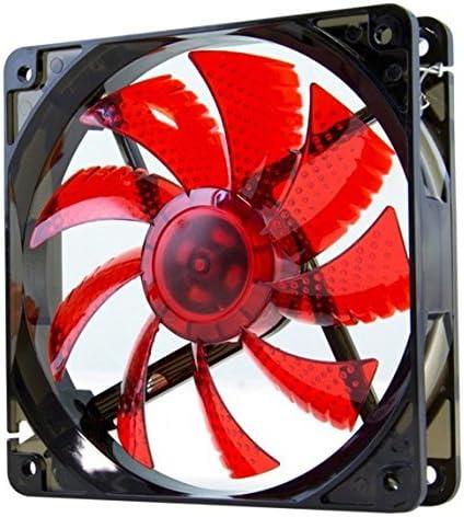 Nox Coolfan 120 - NXCFAN120LR - Ventilador para Caja PC, 12 cm ...