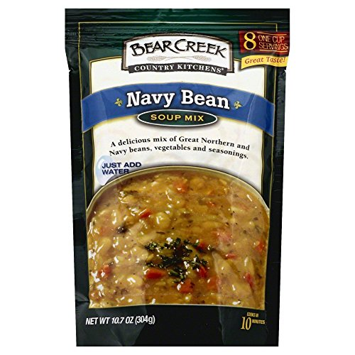 Navy Bean Soup (Bear Creek Navy Bean Soup Mix 10.7oz (Pack of 2))