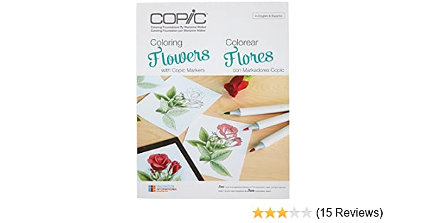 Amazon.com: Copic Markers CB-FLOWR Coloring Foundations - Coloring ...