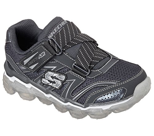 Skechers Kids Boys Skech Air Athletic Sneaker (Little Kid/Big Kid),Charcoal,12 M US Little Kid