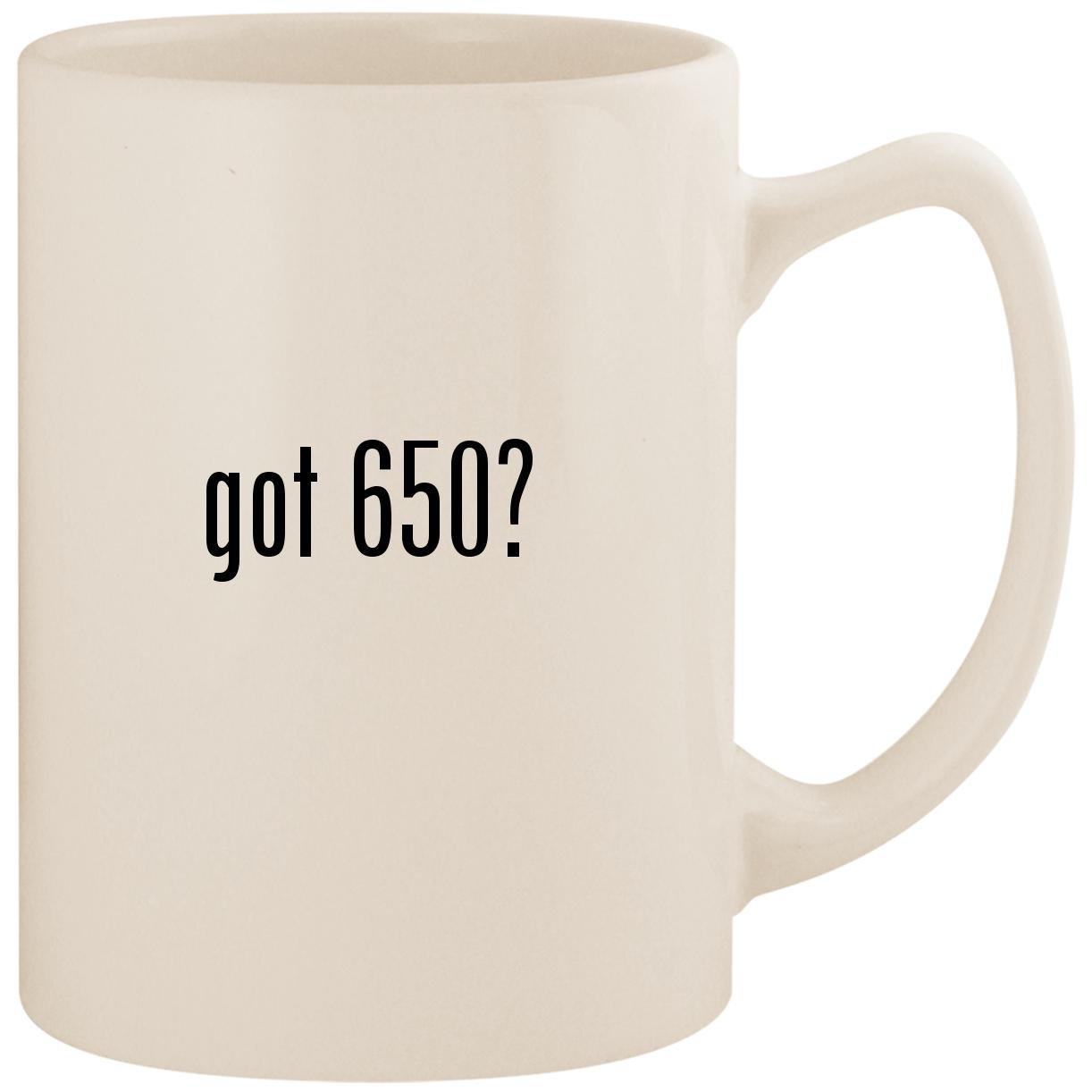 Got 650 政治家 – ホワイト14オンスセラミックコーヒーマグカップ B0742Q97RQ