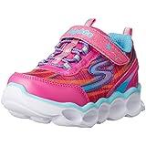 Skechers Kids Lumos-10613L Light-Up Sneaker (Toddler/Little Kid),Hot Pink/Multi,10 M US Toddler