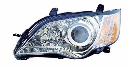 Depo 320-1120L-AFD Subaru Legacy Driver Side Composite Headlamp Assembly with Bulb and Socket (NSF Certified)