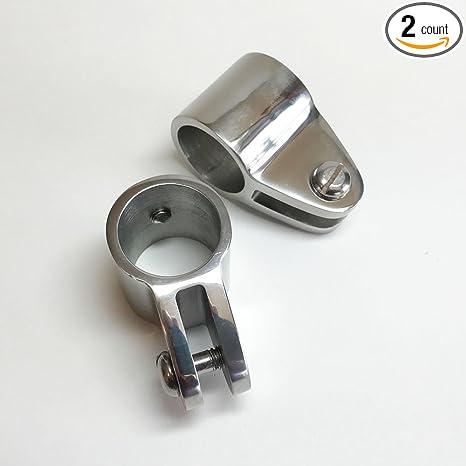 Jaw Slide Fitting Marine 316 Stainless Steel Hardware Automobiles & Motorcycles Marine Hardware 1 Bimini Top Tube Eye End Cap