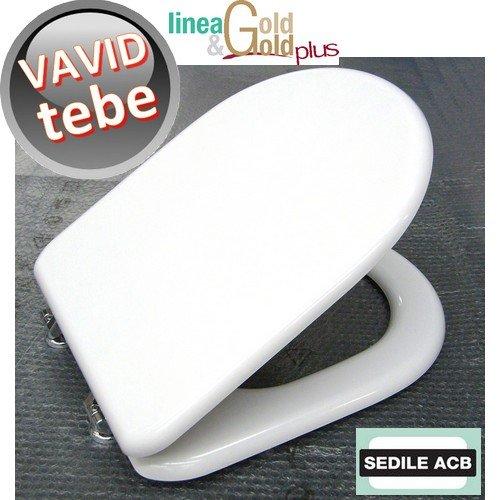 Sedile per wc VAVID Tebe - marca ACB linea GOLD ERCOS