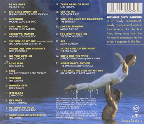 Dirty Dancing Soundtrack 7087