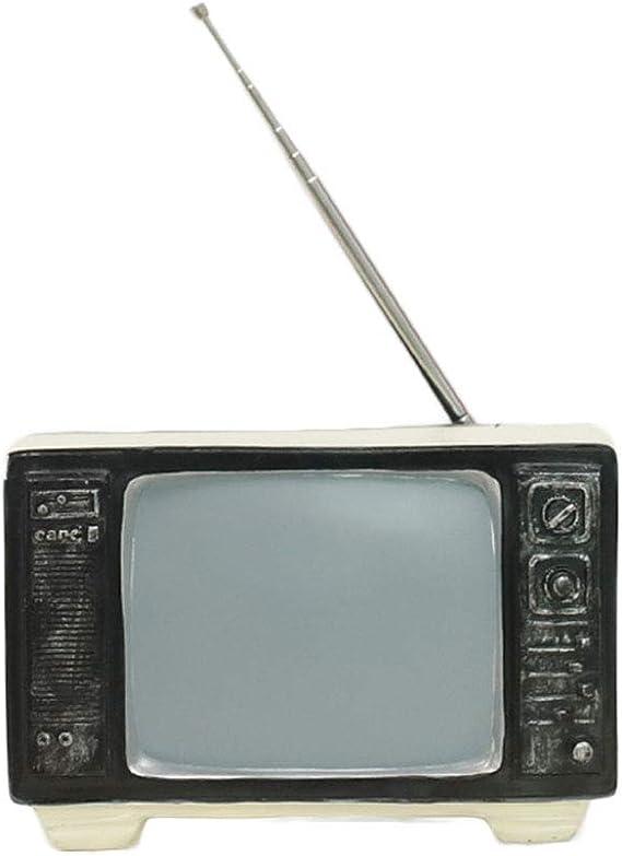 LHZTZKA Antiguo televisor TV Decoración de hojalata Antiguo Vintage Modelo Vintage Accesorios de fotografía, Comedor Muebles Accesorios: Amazon.es: Hogar